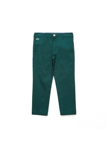 Lacoste Unisex Çocuk  Pantolon HJ3317 Yeşil